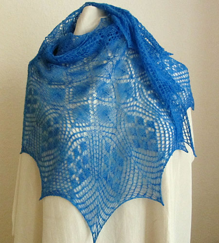 Ethereal Triangular Shawl