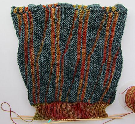 Swing-Reste-M�tze / Swinging oddment hat