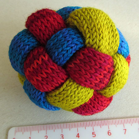 geflochtener Ball, braided ball