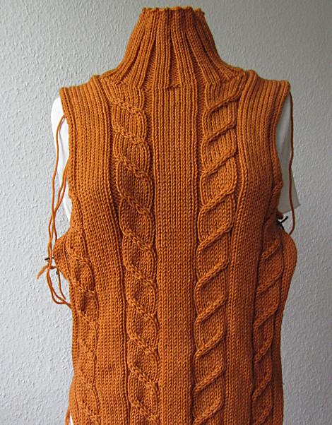 Leibteile Pullover Heather von Kim Hargreaves
